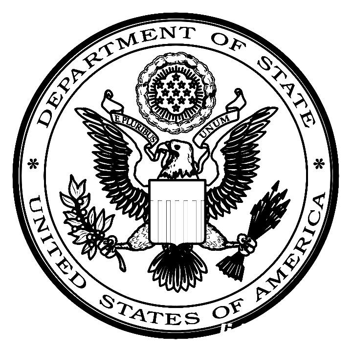 Раскраска эмблема США
