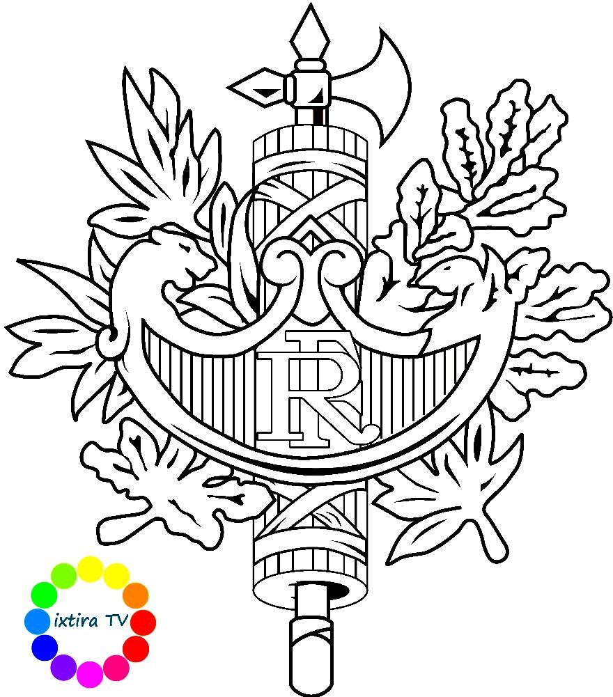 гербы раскраски для детей распечатать бесплатно в формате а4
