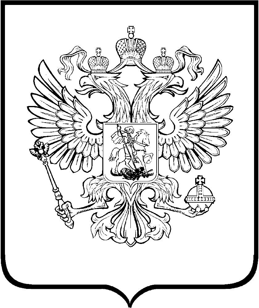 Раскраска эмблема России