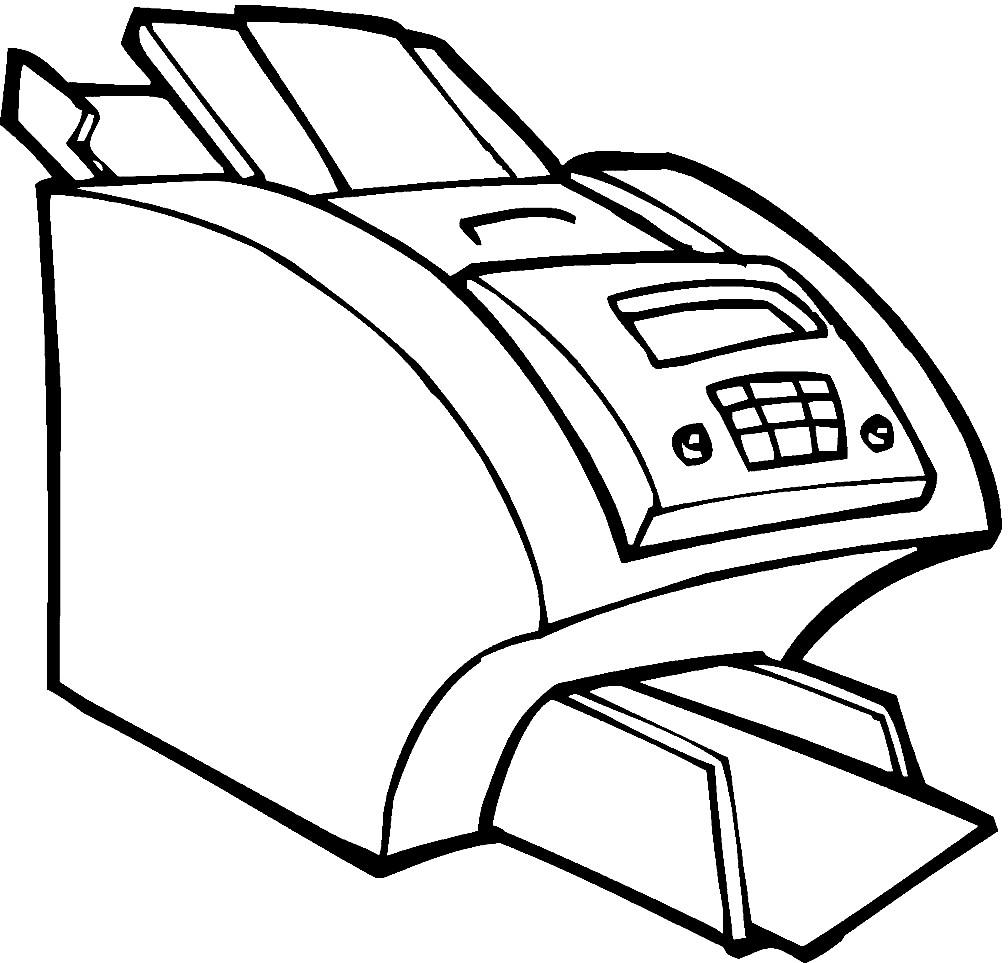 Раскраска принтер