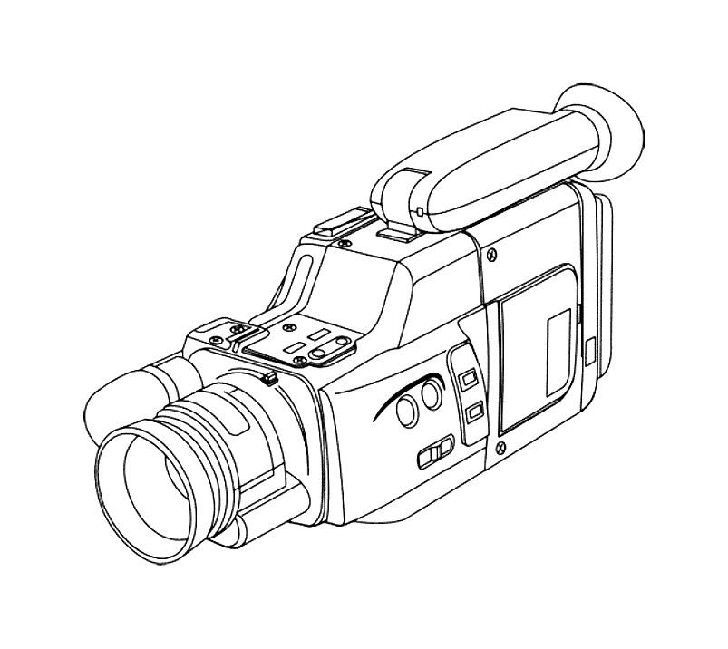 Картинки камеры раскраски