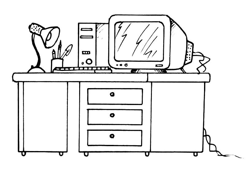 Раскраска рабочий стол