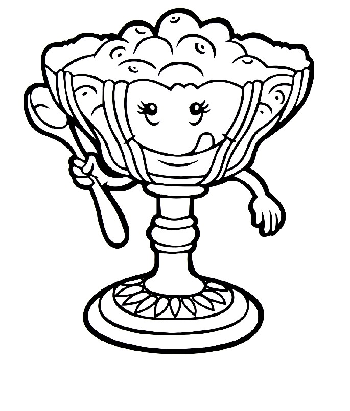 Раскраска ваза для варенья | Раскраски для детей ...