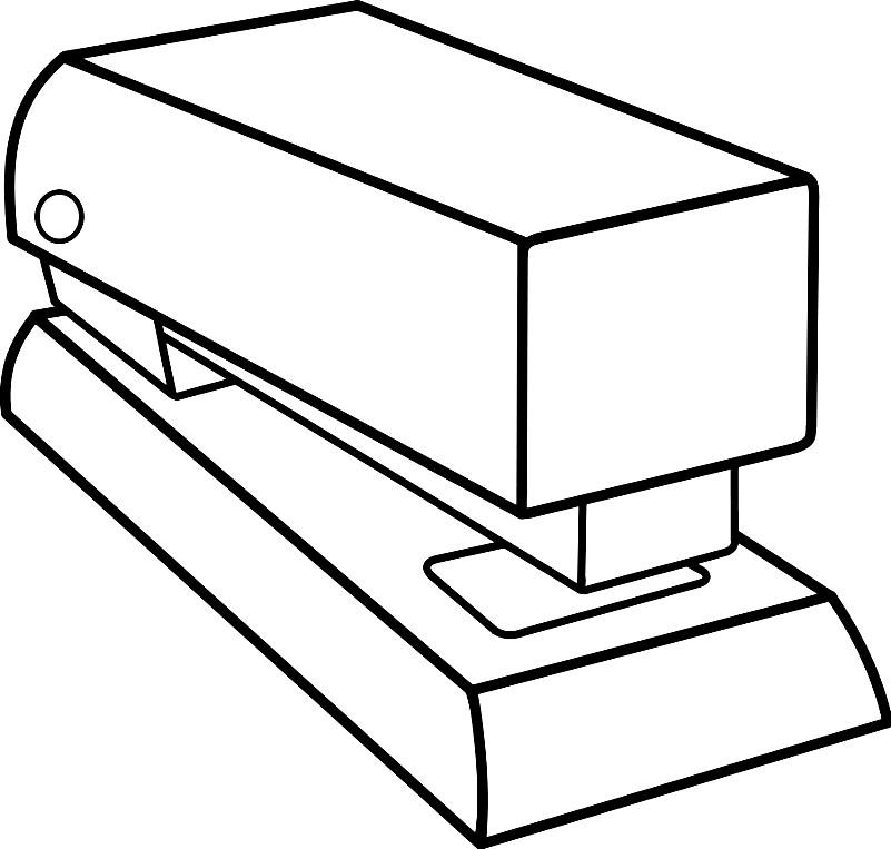 Раскраска степлер