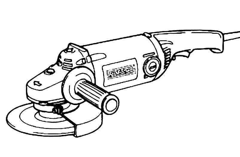 Раскраска электропила