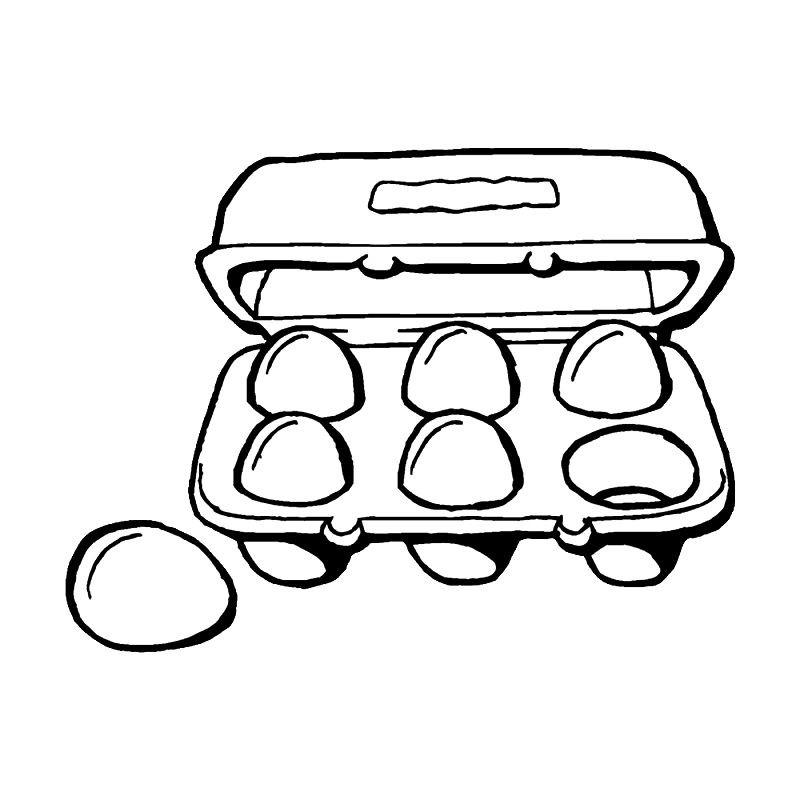 Раскраска яйца