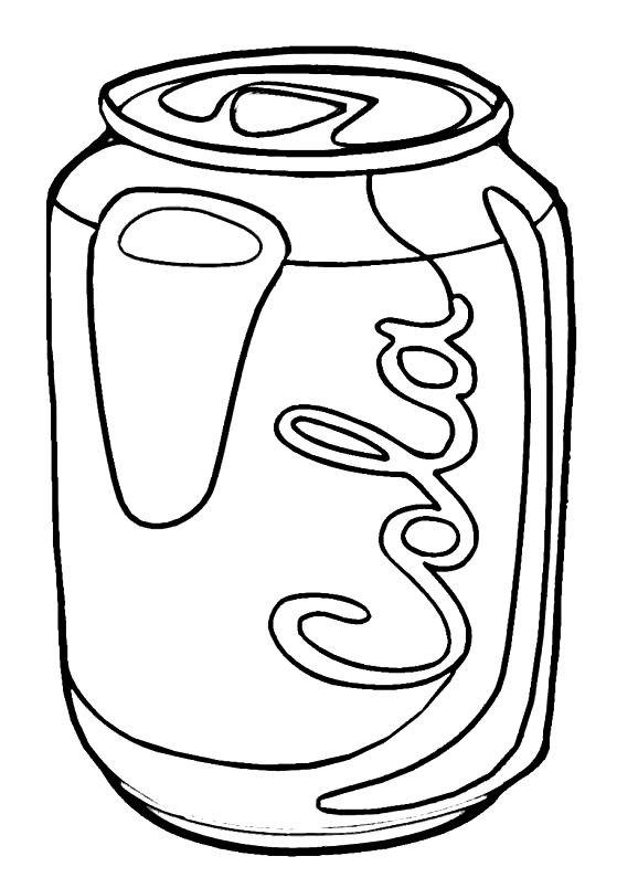 Раскраска Кока Кола