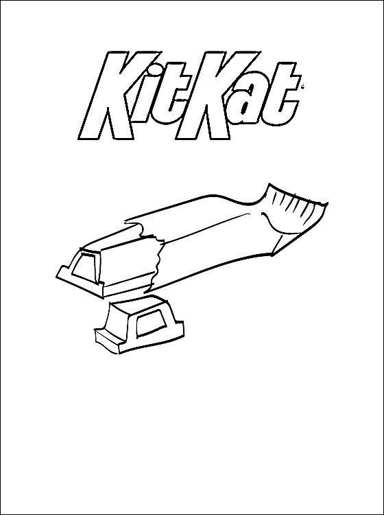 Раскраска Кит Кат