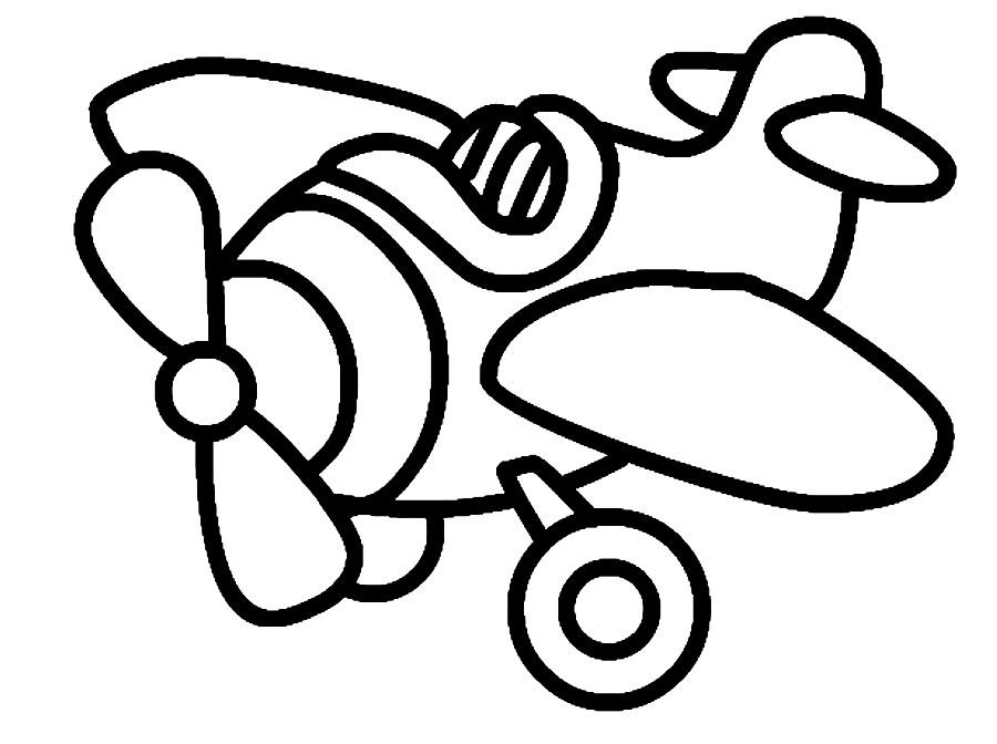 САМОЛЕТЫ И ВЕРТОЛЕТЫ | Раскраски для детей распечатать ...
