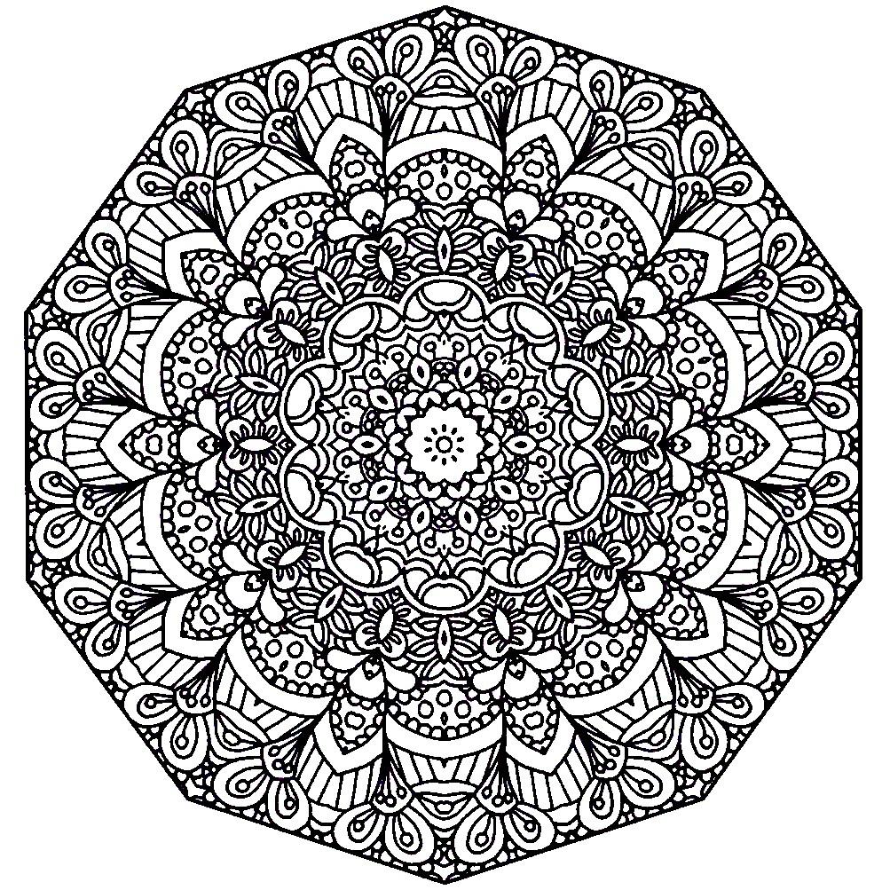 Раскраска кружевная салфетка