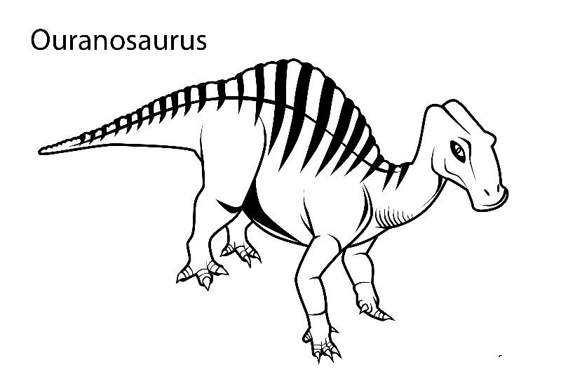 Раскраска уранозавр