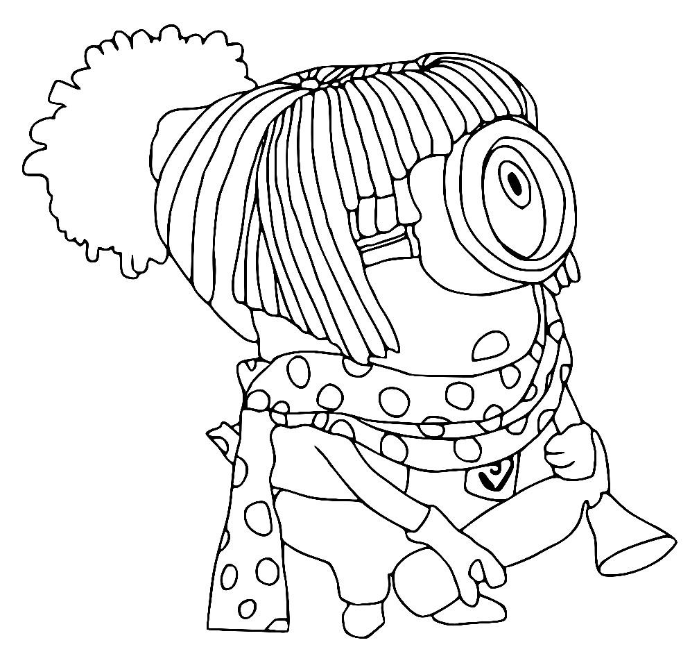 МИНЬОНЫ | Раскраски для детей распечатать бесплатно в ...