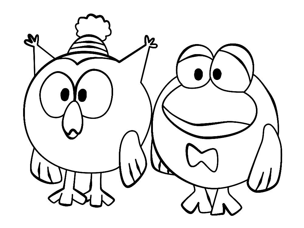 СМЕШАРИКИ | Раскраски для детей распечатать бесплатно в ...