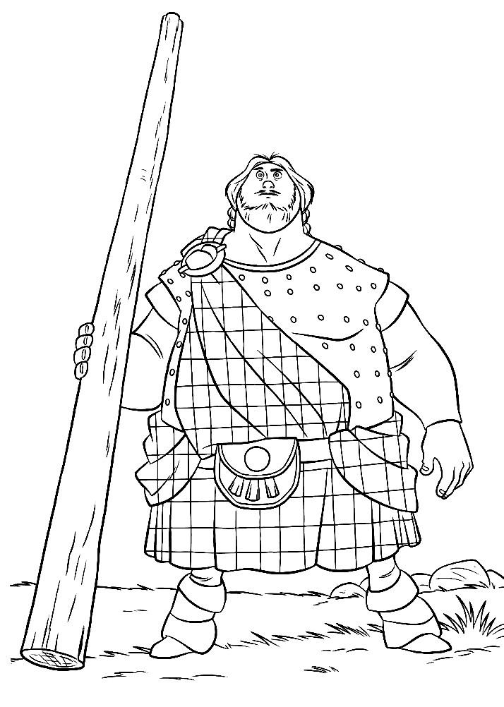 Раскраска Викинг
