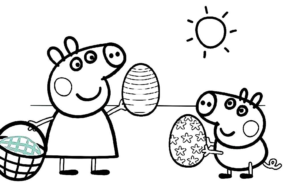 СВИНКА ПЕППА | Раскраски для детей распечатать бесплатно в ...