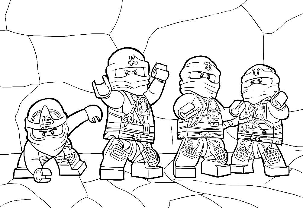 Раскраска Лего Ниндзяго | Раскраски для детей распечатать ...