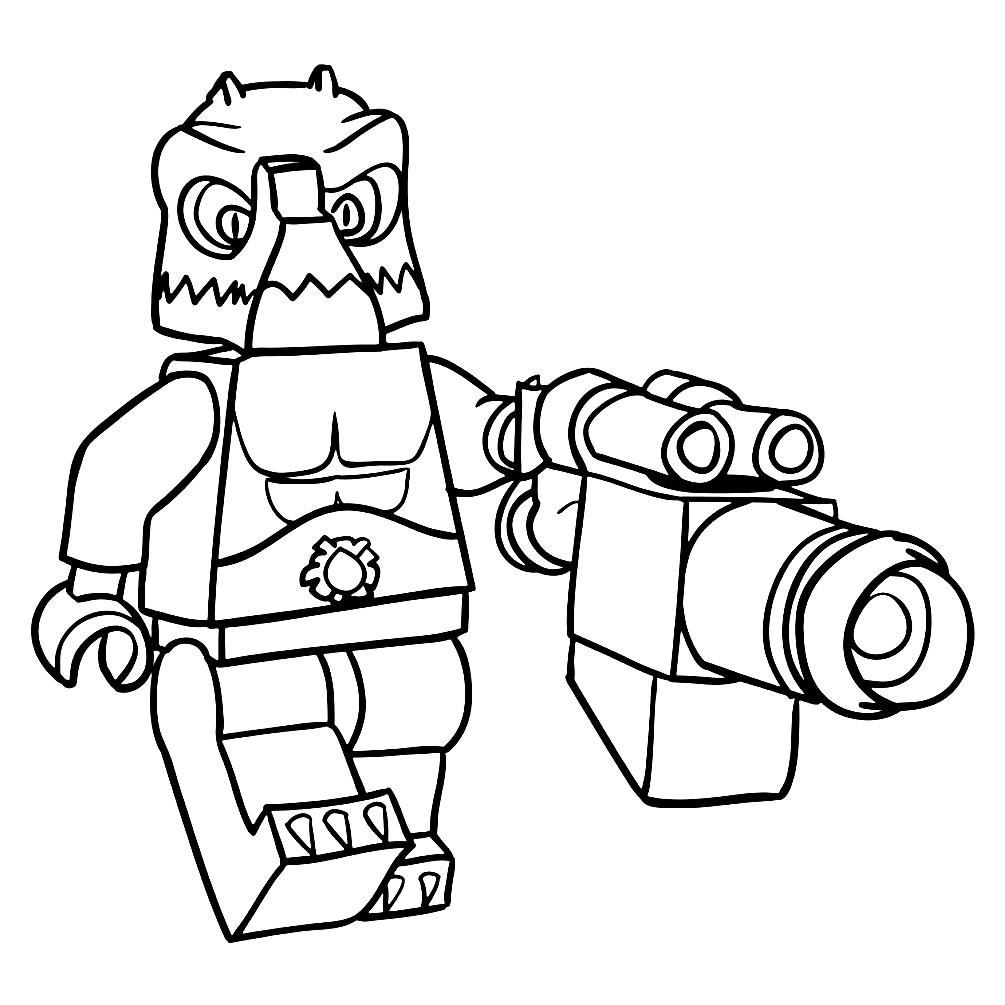 Раскраска Краг из Лего Чима | Раскраски для детей ...