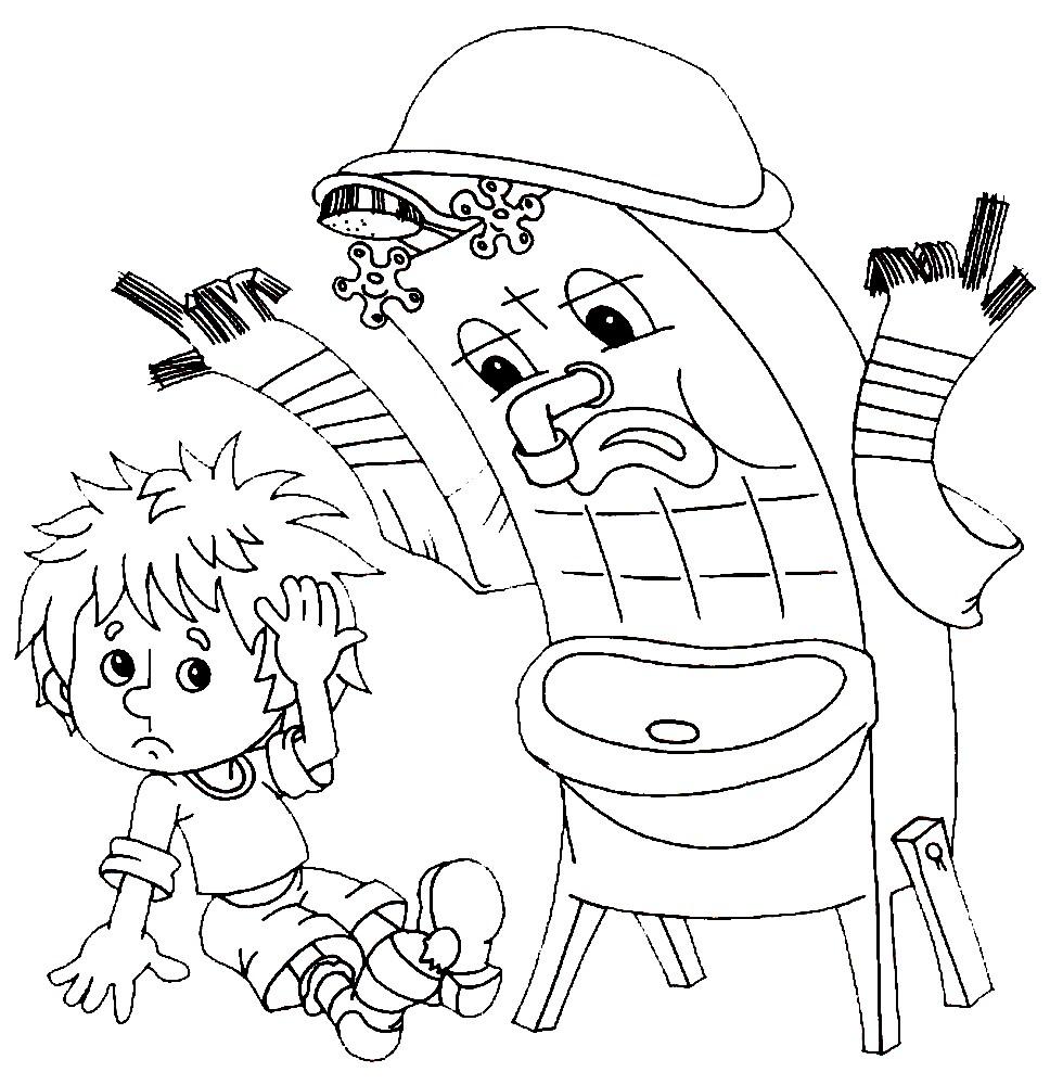 нарисовать рисунок мойдодыр в школу первый класс нет никакой, танго