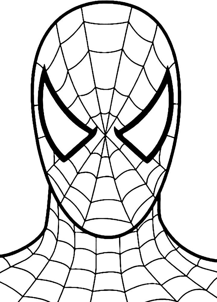 Раскраска Spider-Man