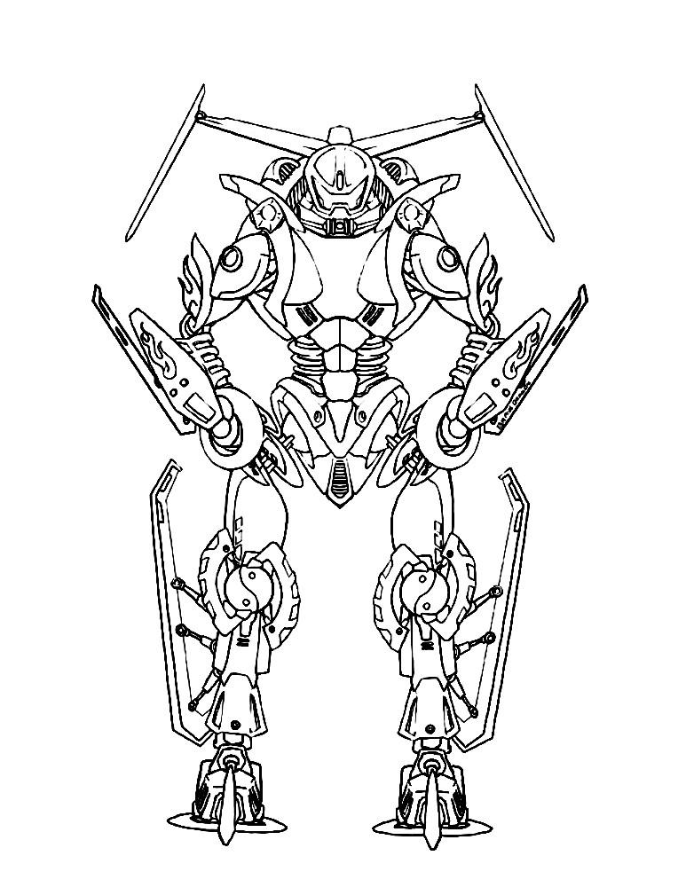 Раскраска Lego Bionicle