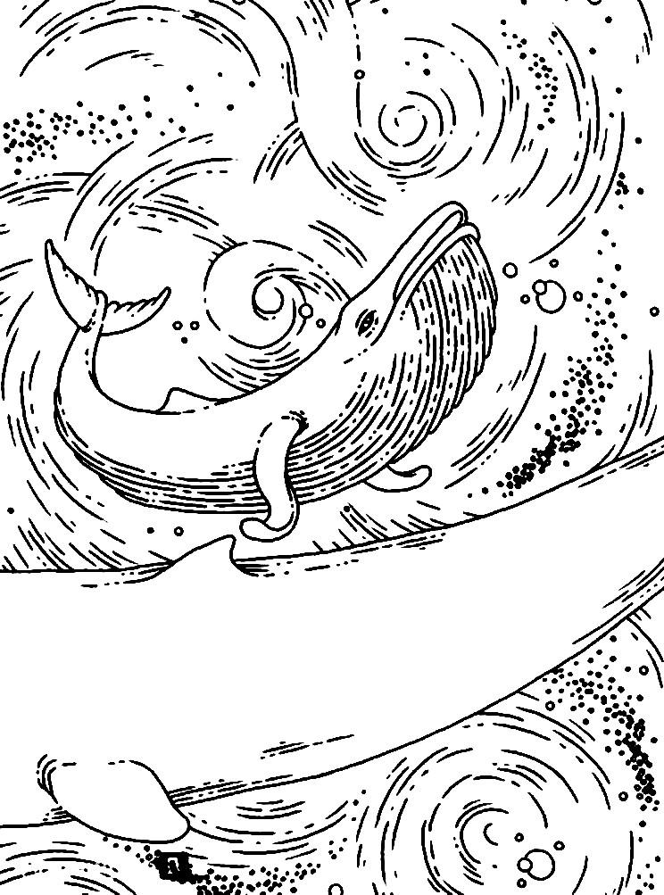 Раскраска антистресс кит