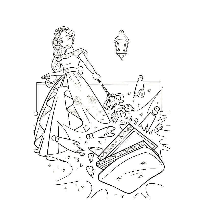 ЕЛЕНА ИЗ АВАЛОРА | Раскраски для детей распечатать ...