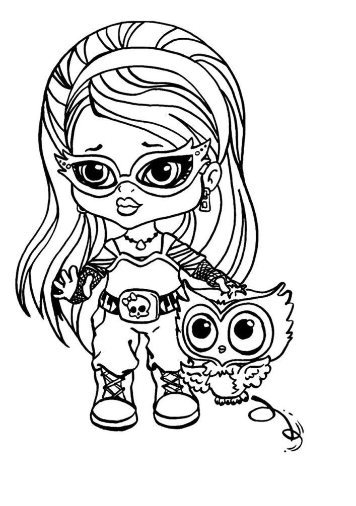 Раскраска Гулия – дочь Зомби