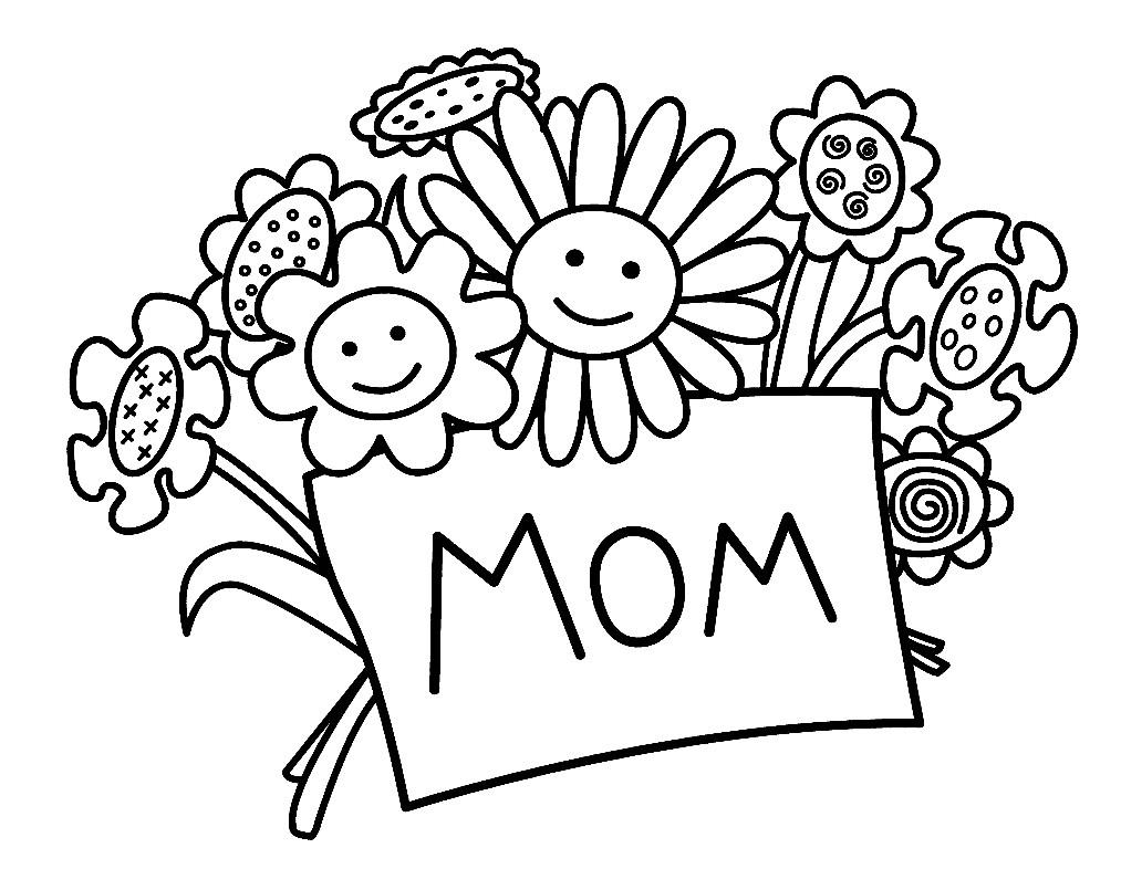 Картинка маме на день рождения печать