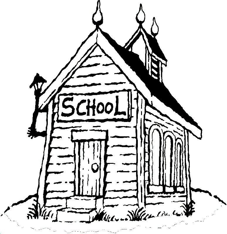 Раскраска старая школа