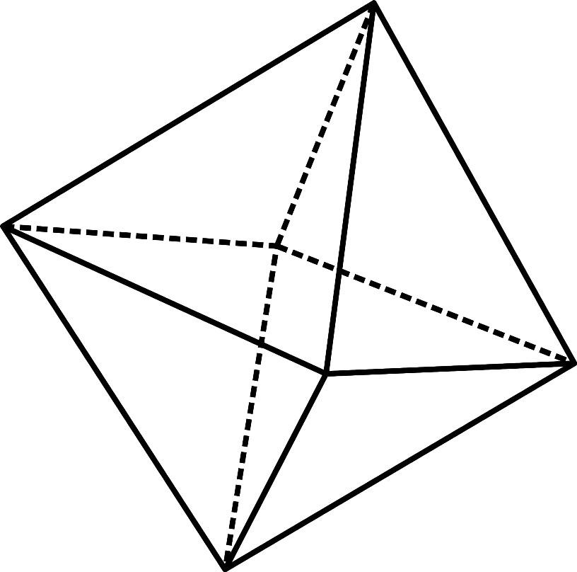 Раскраска октаэдр