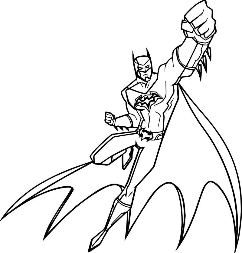 Бэтмен в действии из Роботы против Мутантов
