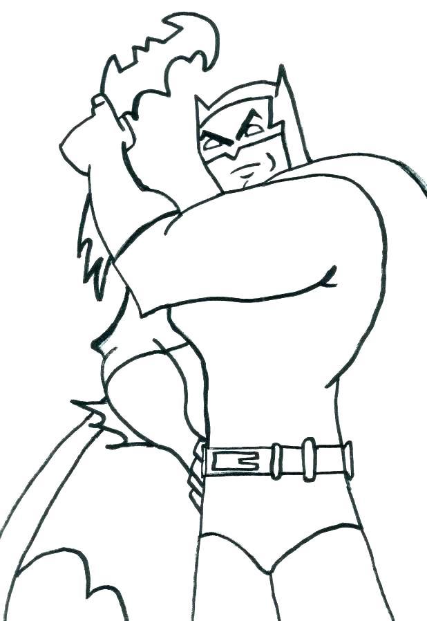 Бэтмен с бэтарангом из вселенной отважный и смелый