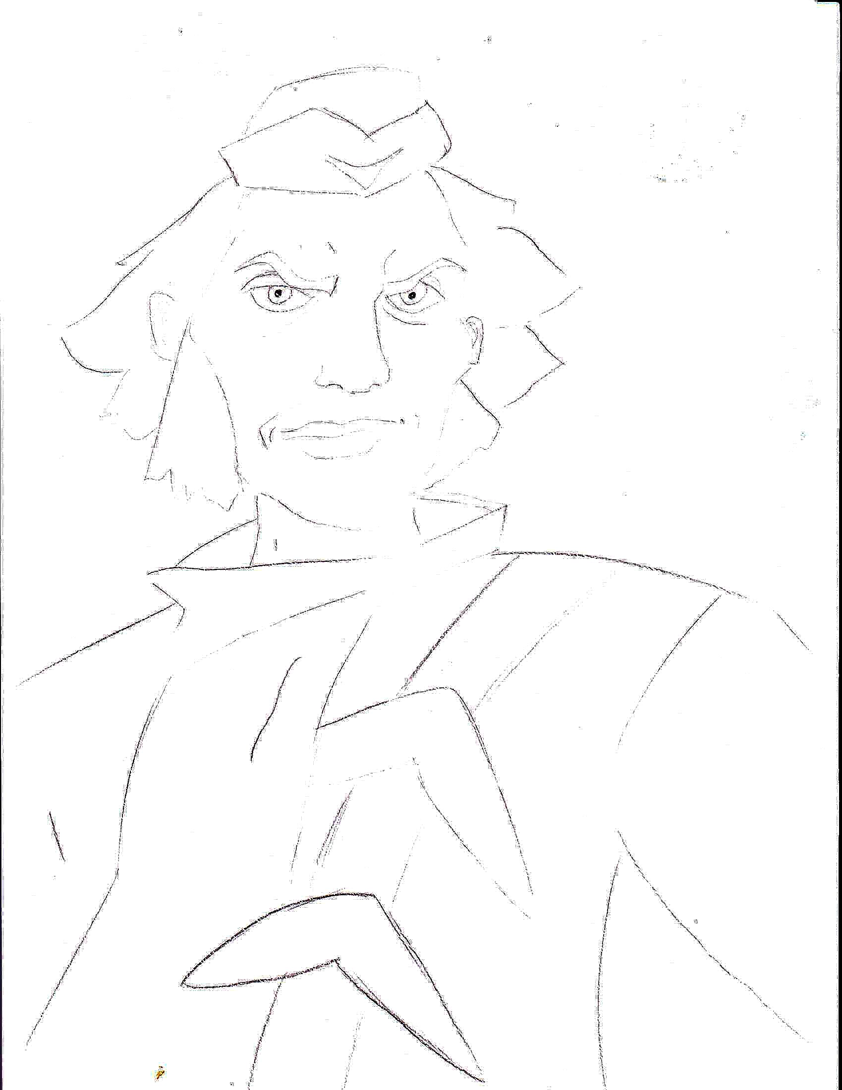 Раскраска Капитан Бумеранг