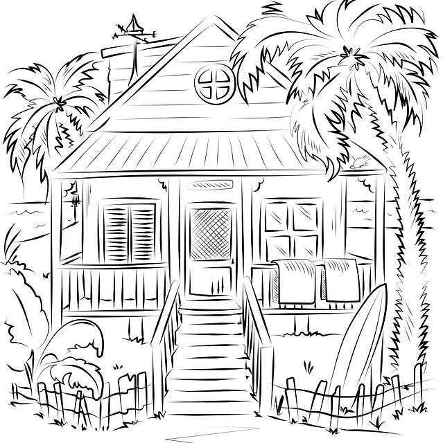 Дом на пляже